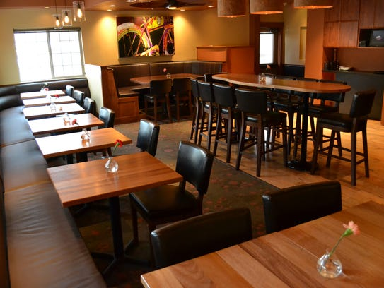 The event space at Cafe Vino, 1200 S. College Ave.,