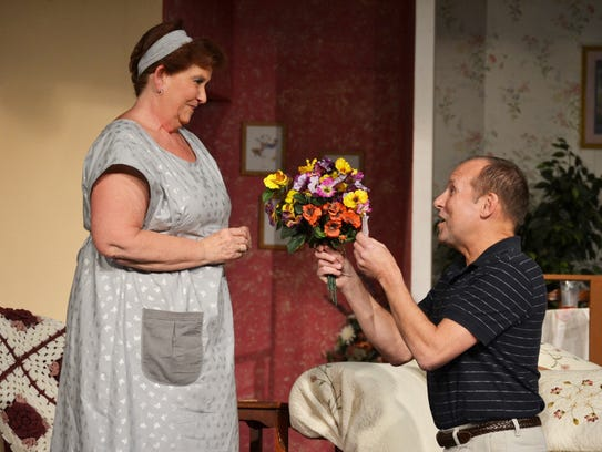Henry (Jeff Buchanan) proposes daily to Mrs. Stancliffe