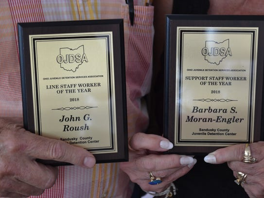 These awards represent countless hours Roush and Moran-Engler