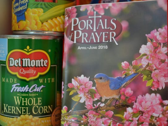 Devotionals and contact information on local resources are often included inside the Blessing Boxes.