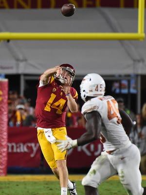 USC Trojans quarterback Sam Darnold.