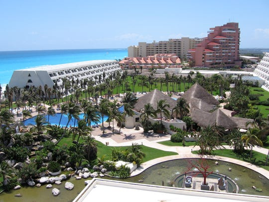 Grand Oasis Cancun Resort, Mexico.