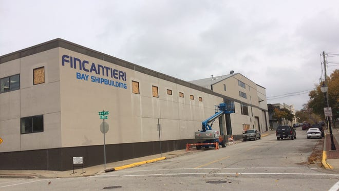 The Zoning Board of appeals approved a variance to allow Fincantieri Bay Shipbuilding to increase the height of the 128 Kentucky St. building in Sturgeon Bay from 45 feet up to 75 feet.