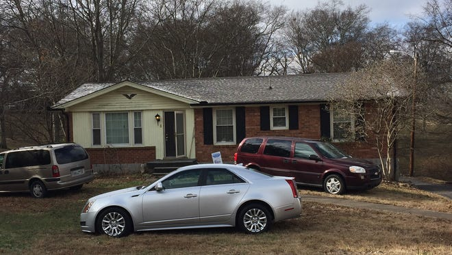 Benny Birchfield's home on Elnora Court in Hendersonville was the site of an attack early Saturday morning in which two people were found dead. Birchfield was injured with stab wounds.