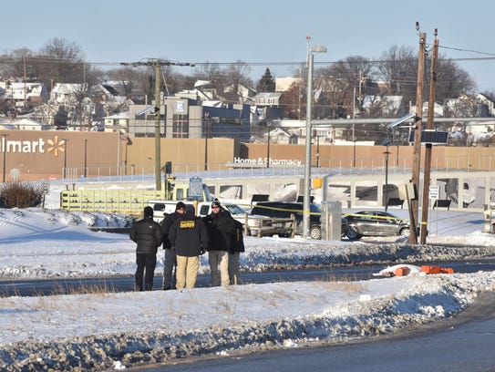 Fatal pedestrian accident on Route 46 East, near Teterboro