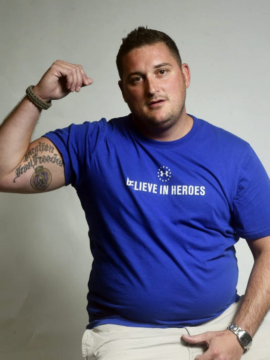 Veteran Adam Shaffer of Greencastle, pictured on Thursday, June 25, has not been able to get treatment for Hepatitis C at the VA hospital in Martinsburg, West Virginia because officials claim they do not have the resources.