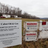 Pennsylvania officials found Cabot Oil and Gas was responsible for polluting water wells at homes in Dimock Pennsylvania. This home, owned by Ron and Jean Carter in 2009, were among the high-profile case
