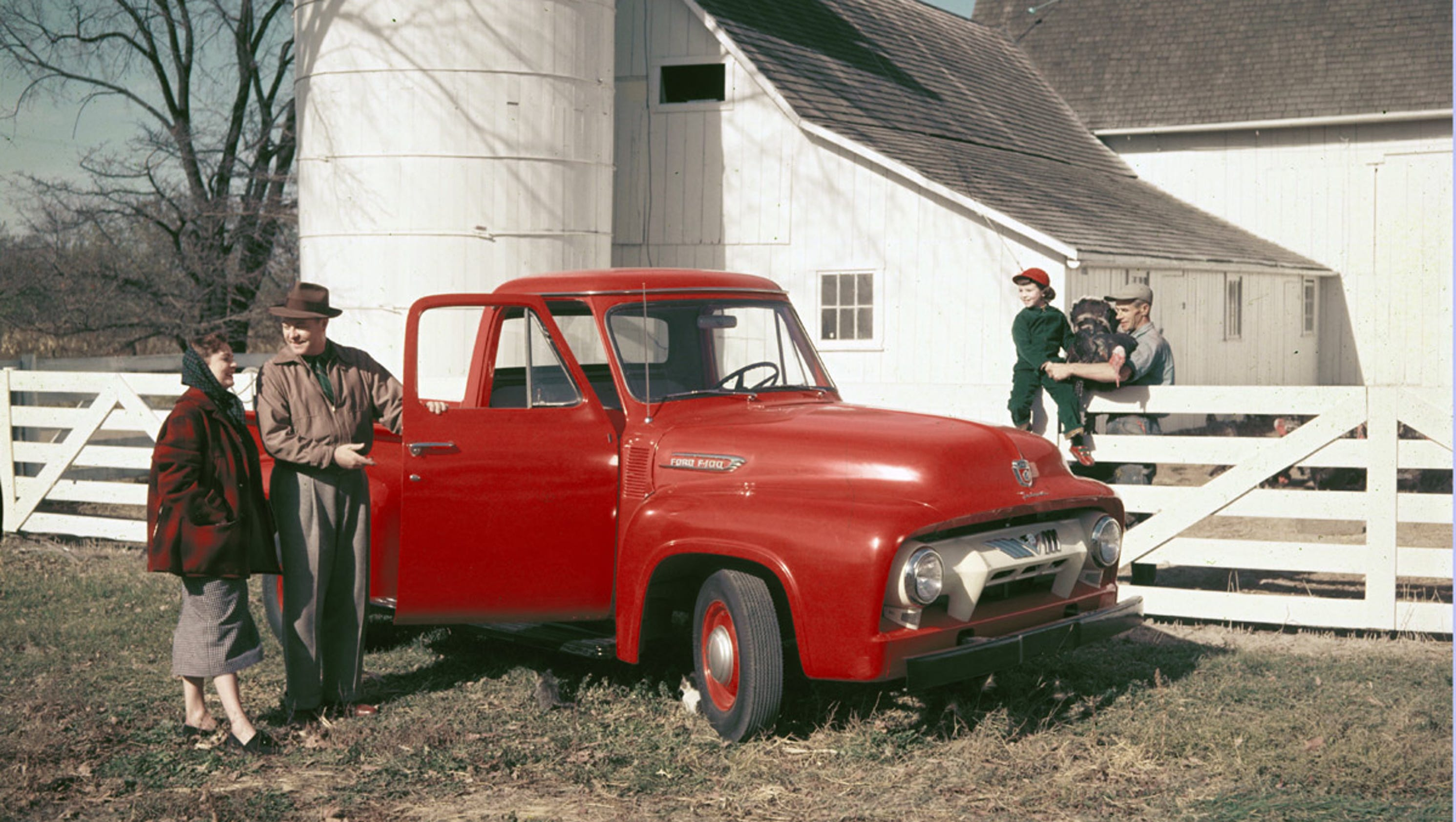 Ford Trucks celebrate 100 years as America\'s workhorse icon
