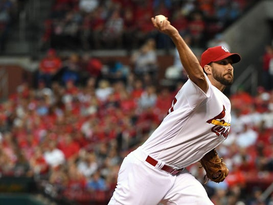 MLB: San Francisco Giants at St. Louis Cardinals