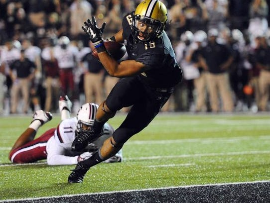 Vanderbilt receiver C.J. Duncan starred at St. James.