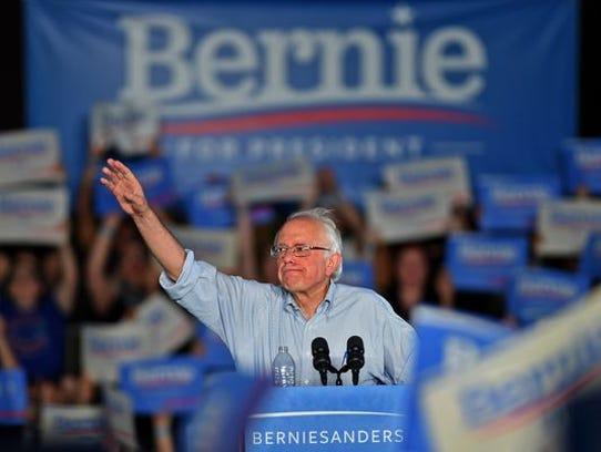 Vermont Sen. Bernie Sanders brings his campaign for