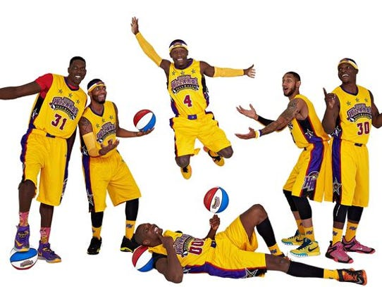 The Harlem Wizards will play in exhibition basketball
