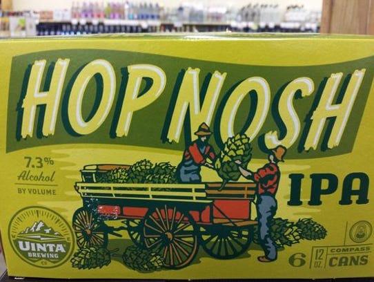 Hop Nosh IPA.