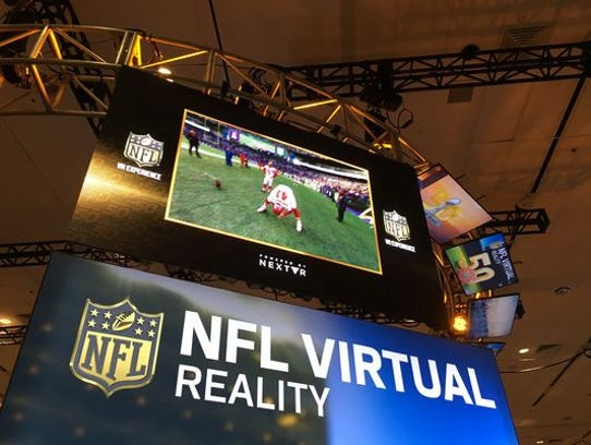 NextVR, which showcased its virtual reality broadcasting