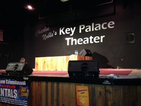 Key Palace Theater's (123 S Meridian St., RedKey) renovated