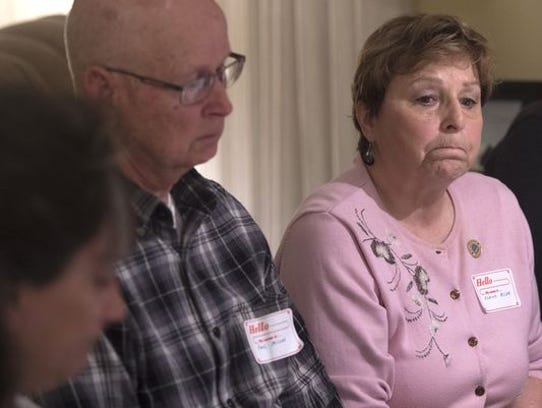 Elaine and Paul Miller speak about their son Rodney