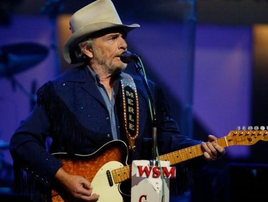Merle Haggard at The Grand Ole Opry, Saturday, Sept.