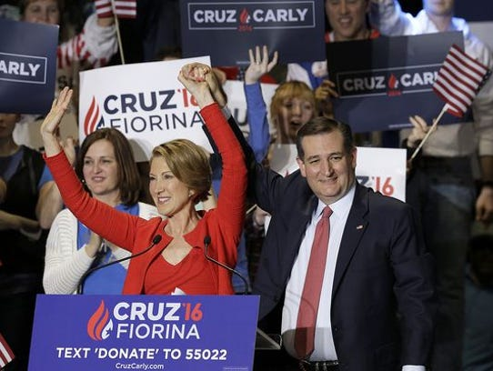 Ted Cruz taps former GOP presidential candidate Carly