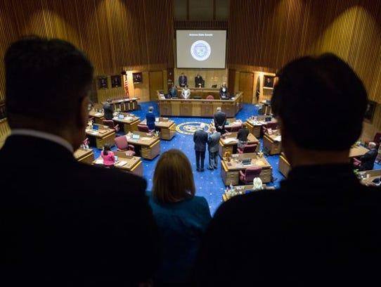 The Arizona Legislature pushed to finish its work and