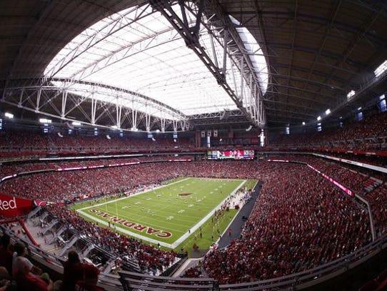 University of Phoenix Stadium, home of the Arizona