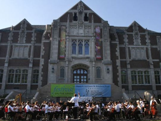 MSO's Festival on the Green will take place on Saturday,