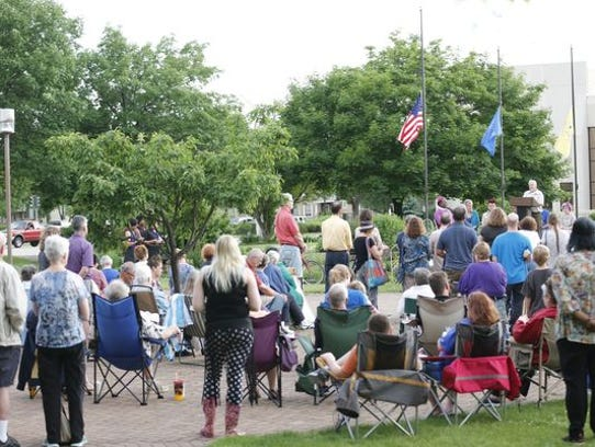 The Sisters of St. Agnes organized a vigil June 12
