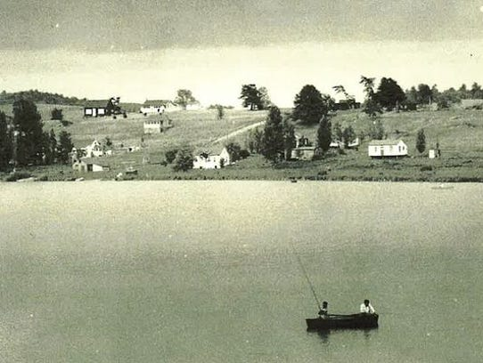 A view of Chinatown across Long Lake, in Fond du Lac