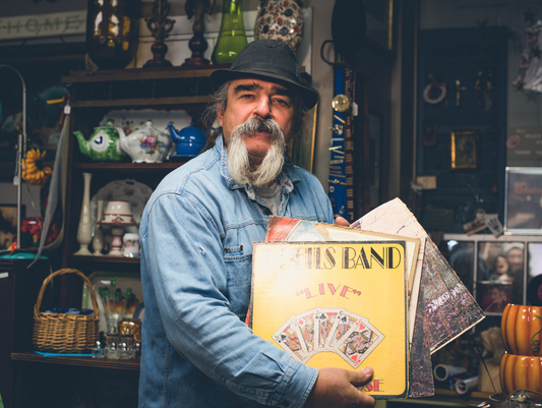 "Mike 'The Junkman"" Anest, owner of Another Man's Treasures"