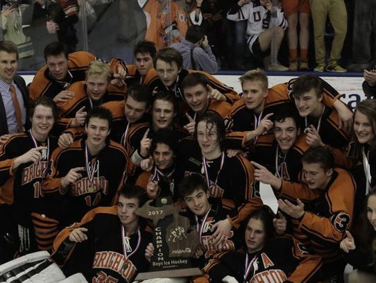 Brighton hockey's fourth Division 1 state championship