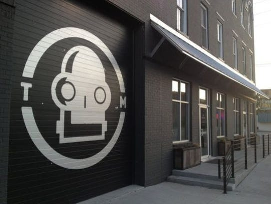 Tin Man building on West Franklin Street in Evansville.
