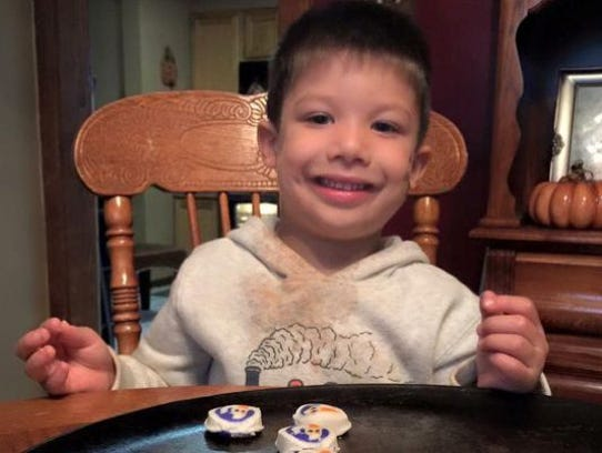 Brendan Creato, 3, was found slain in a Haddon Township