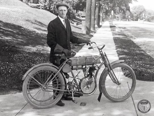 In 1903, 27-year-old Walter Davidson saw the future.