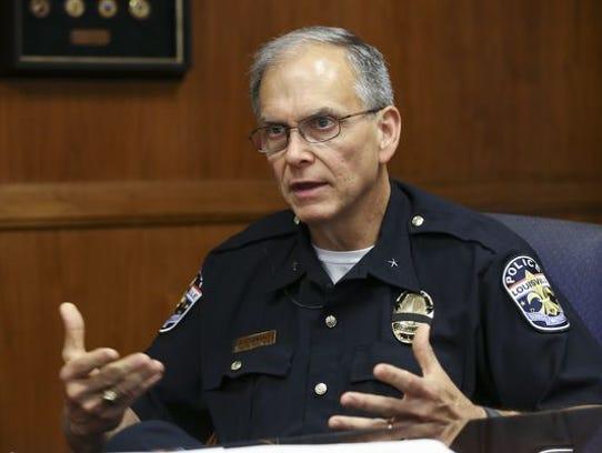 LMPD Chief Steve Conrad