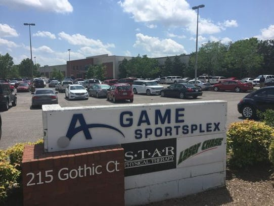 The A-Game Sportsplex in Franklin.