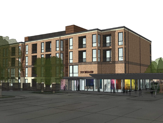 Walnut Park will house 72 multi-family units — 38 two-bedroom,