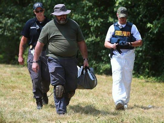 Investigators on scene where someone attending Firefly