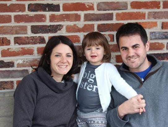Megan Villanella, left, was killed in March 2017 after