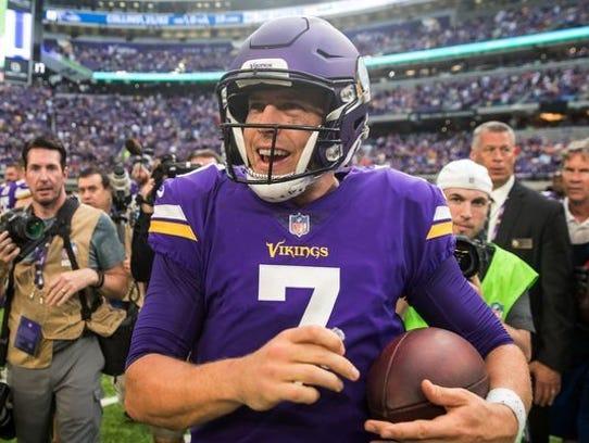 Former Abilene Wylie now Minnesota Vikings quarterback
