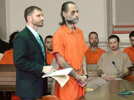 Michael S. Thundercloud, 45, of Zanesville, pleaded