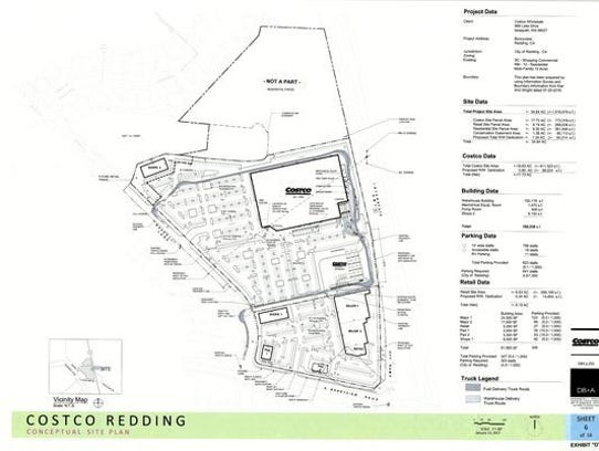 This is a site plan for the new Costco