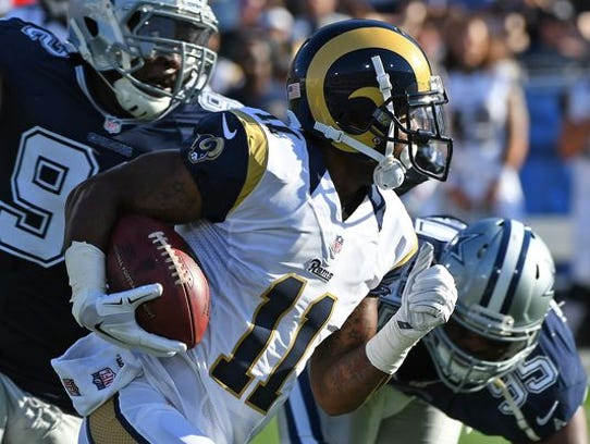 Tavon Austin was traded from the Rams to the Cowboys