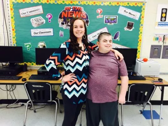 A promposal for a special needs teen in Brockport,