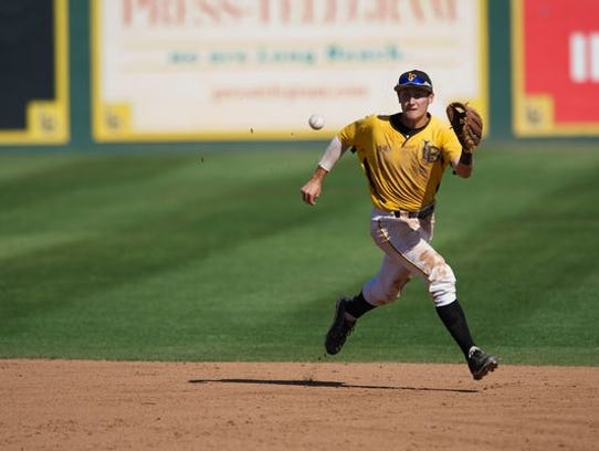Reno High alum Garrett Hampson was called up to Triple-A