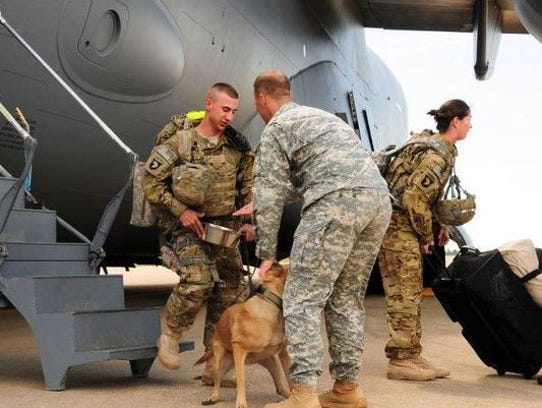 Army Dog Reunited With Handler After Being Abandoned