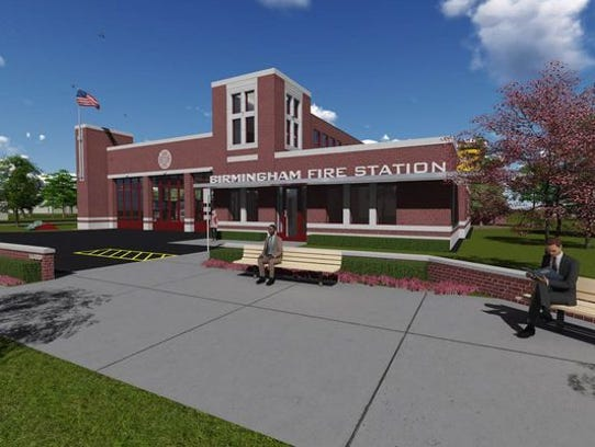 Home Spa Design Ideas: Birmingham Breaks Ground On 'state-of-the-art' Fire Station