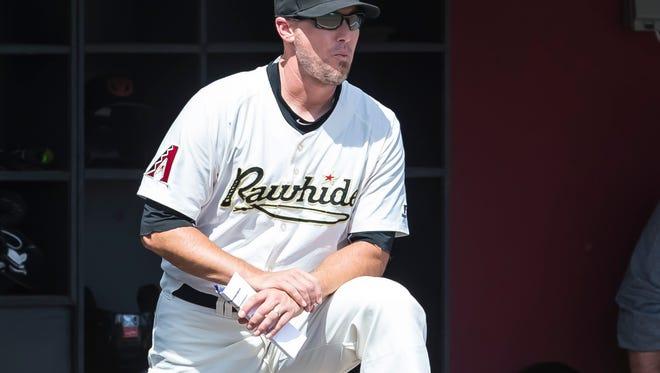 Visalia Rawhide pitching coach Jeff-Bajenaru is the reigning California League coach of the year.