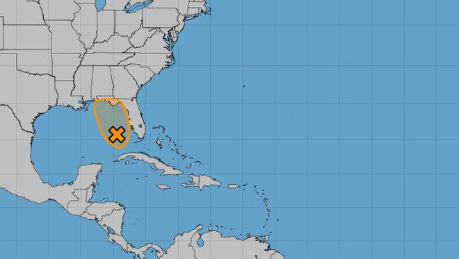 A rare tropical or subtropical storm could form this week in the Gulf of Mexico.