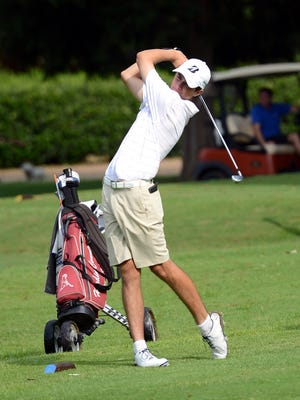University School of Jackson's Chase Harris was the boys' individual medalist Monday at the FCA Invitational.
