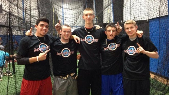 Members of the Hendersonville baseball team are among those who have trained at the Batter's Eye indoor center in the past year.