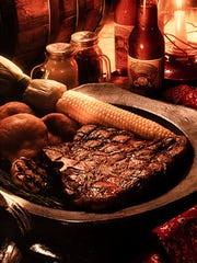 Rustler's Rooste steak.